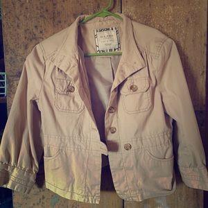 Khaki Lightweight Spring Jacket